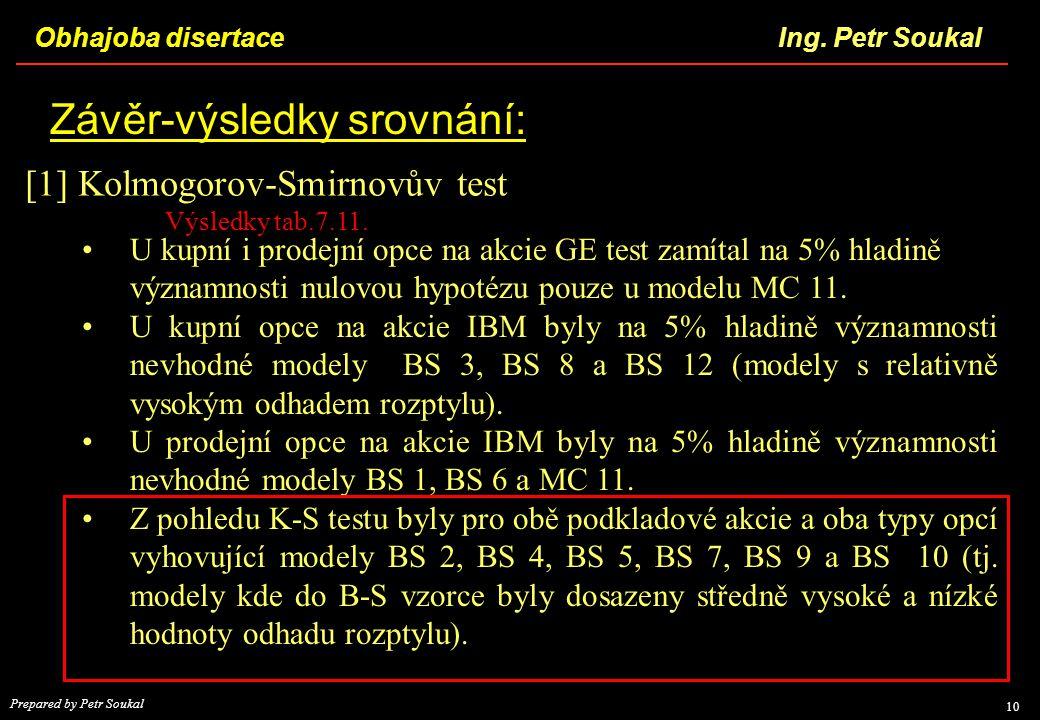 [1] Kolmogorov-Smirnovův test